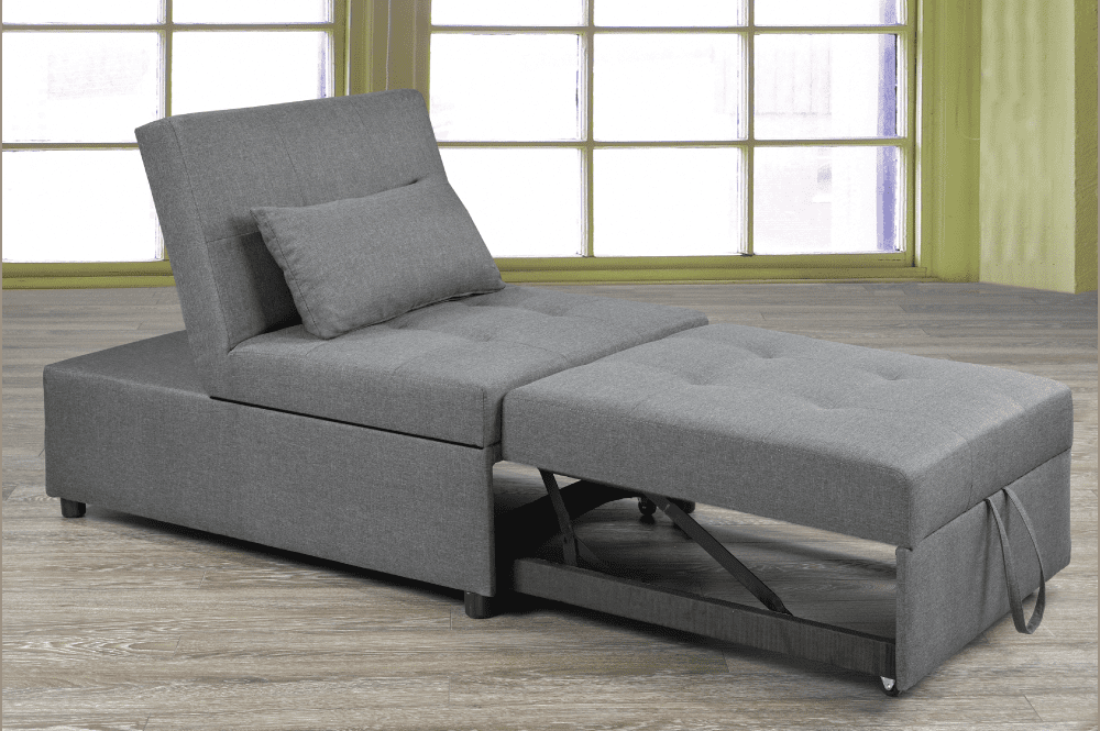 sofa queen shipping chair product overstock futons size futon hardwood garden free somette suede bed monterey home today
